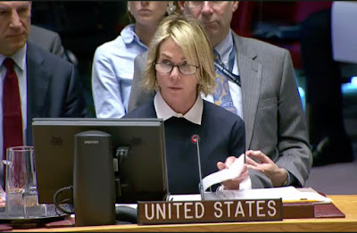 Kelly Craft, the US ambassador to the UN