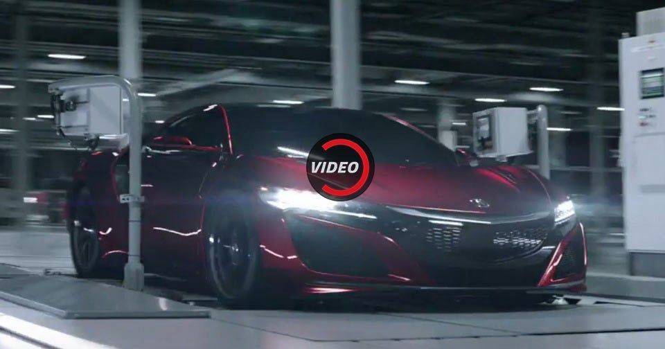 Acura Giving New NSX Owners Customized Films And A Bespoke Scale Model
