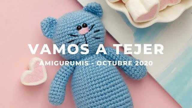 ¡Vamos a tejer amigurumis! - Reto y Sorteo Octubre 2020