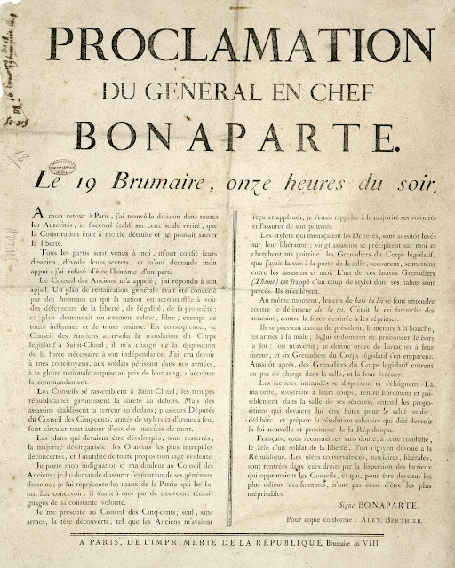 proclamation bonaparte