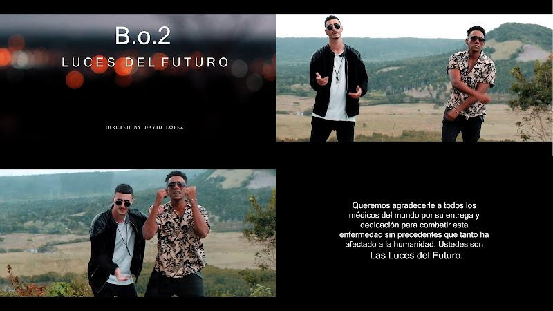 B.o.2 - ¨Luces del futuro¨ - Videoclip - Director: David López. Portal Del Vídeo Clip Cubano. Música cubana. Cuba.