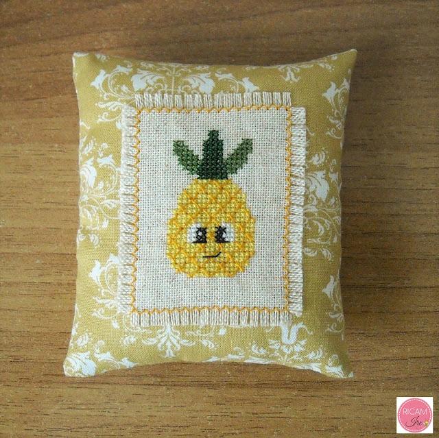 ananas a punto croce