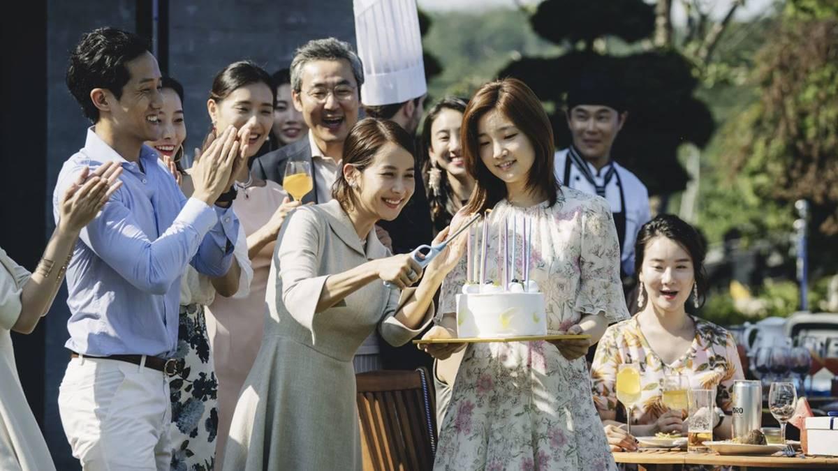 Jessica - Nyonya Park di pesta ulang tahun Da Song