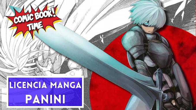 "Licencia manga: Panini Cómics licencia ""Ragna Crimson"" de Daiki Kobayashi"