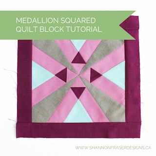 Medallion Squared Free Quilt Pattern & Tutorial