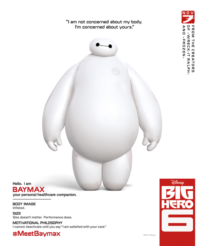 Big Hero 6 Trailer : Teaser Trailer