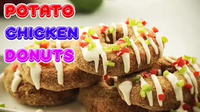 Potato Chicken Donuts Recipe In Urdu