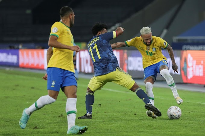 Con polémica, Colombia dejó escapar el triunfo ante Brasil, pero clasificó en la Copa América: Amarga derrota en Río de Janeiro