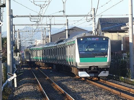 埼京・川越線 相鉄線直通 快速 海老名行き E233系