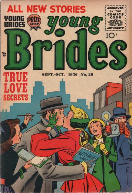 Kirby Young Brides romance comics