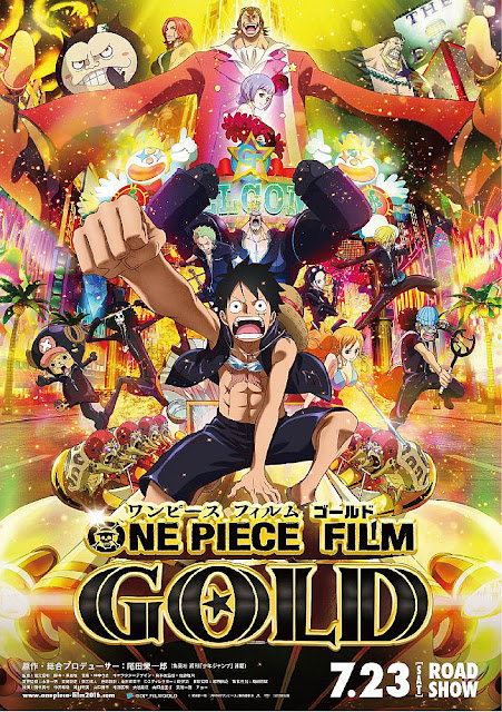 Sinopsis Film Animasi Jepang: One Piece Film Gold (2016)