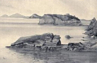 Naples ( Napoli ) , past and present ( 1901 )