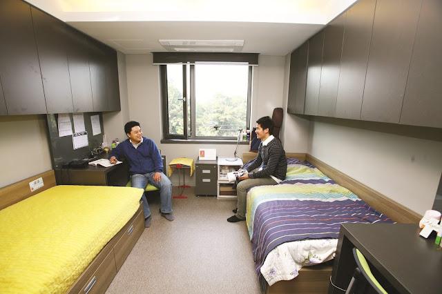 Ký túc xá trường đại học Namseoul