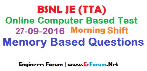 bsnl-je-27-09-2016-paper