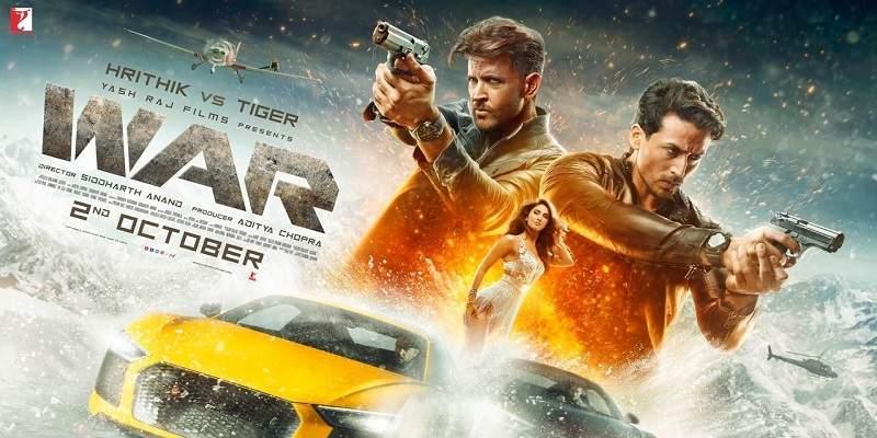War Hrithik vs Tiger Movie Poster
