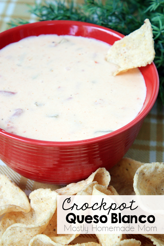 Crockpot Queso Blanco