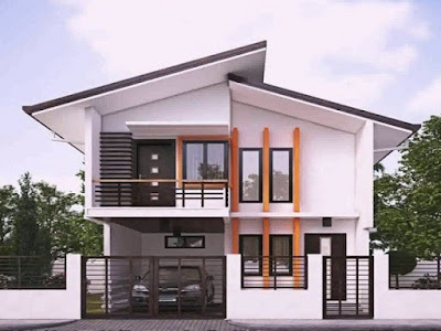 Foto Desain Rumah Minimalis Tampak Depan Mewah