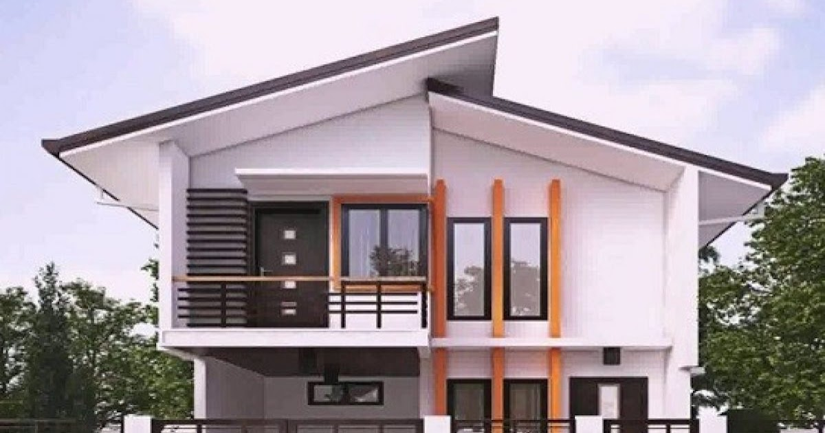 Desain Cat Rumah Tampak Depan - 65 Model Desain Rumah ...