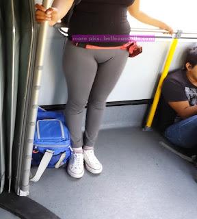 chicas lindas leggins