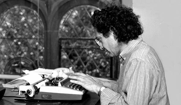 Ricardo Piglia en Princeton