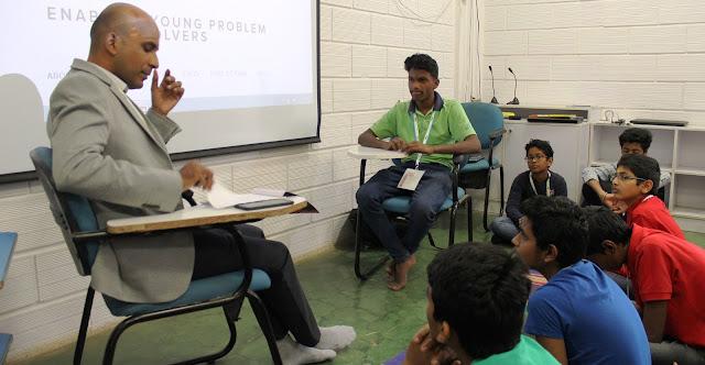 Eureka STEM workshop Students showcase their innovation