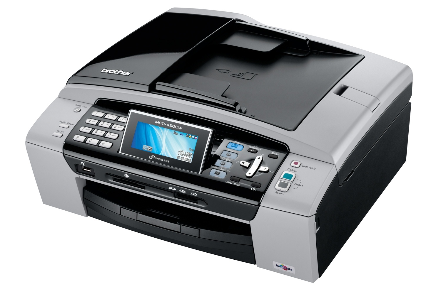 Brother mfc-490cw drivers download update brother software.