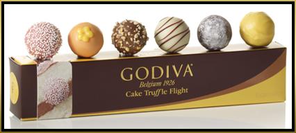 Godiva Birthday Cake Truffles Ingredients