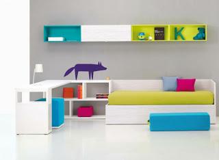 Dormitorios minimalistas para ni os dormitorios colores for Dormitorios minimalistas pequenos