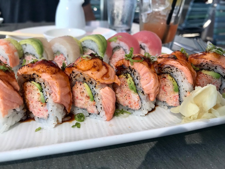 Cannonball sushi, San Diego California