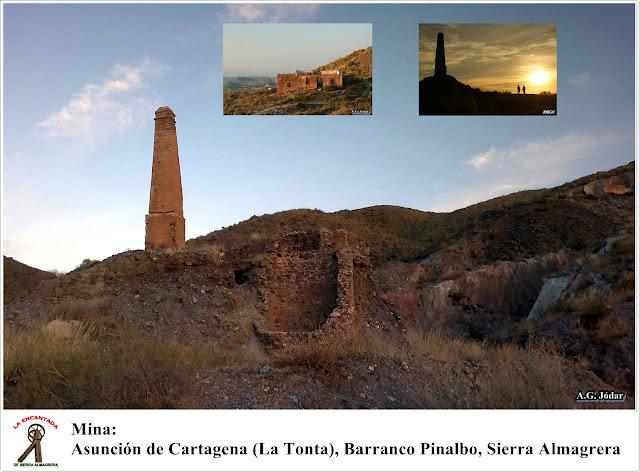 barranco Pinalbo, Sierra Almagrera