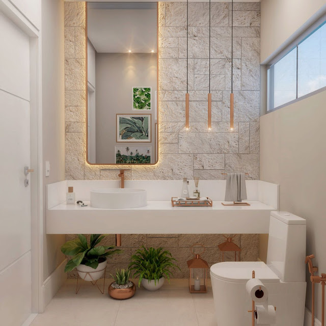 Attach Bathroom Design