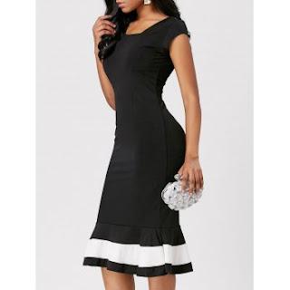DRESSLILY - tea length dresses.