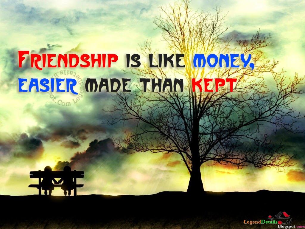 True Friendship Quotes HD Wallpapers | Legendary Quotes