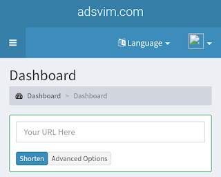Adsvim: Make More Than $100 Per Week By Shorten Your Link