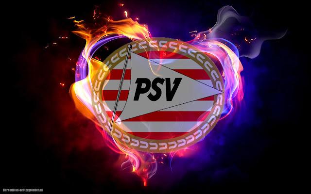 PSV achtergrond met logo