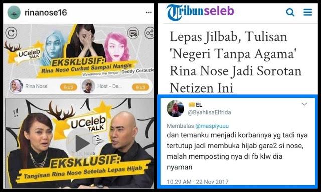 Persoalannya Bukan Semata Buka Jilbab, Tapi Ia Sedang Kampanye Buka Jilbab