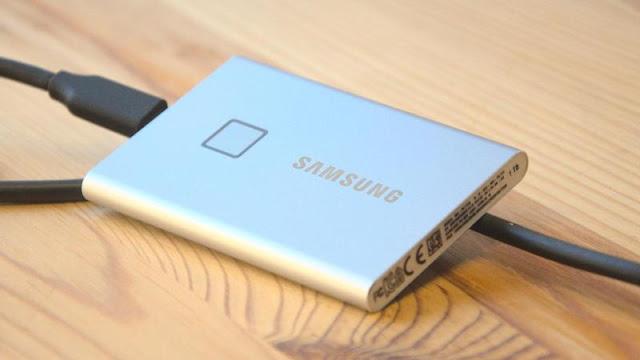 6. Samsung T7 Touch