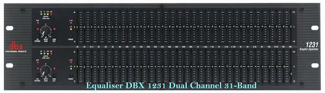 Equaliser-dbx1231-dual-channel-31-band