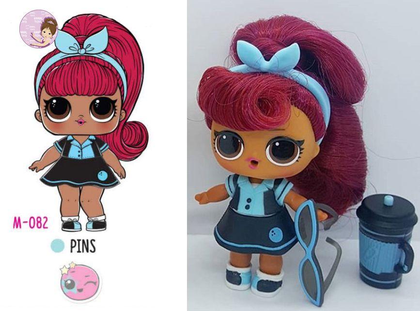 "Hair Goals /""Pins/"" Makeover Series NEW #Hairgoals LOL Surprise"