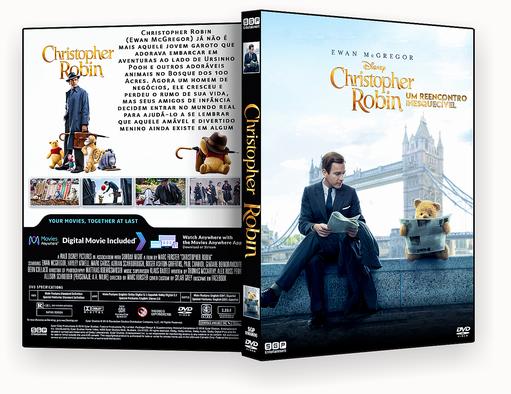 CAPA DVD – CHRISTOPHER ROBIN UM REENCONTRO INESQUECIVEL DVDR