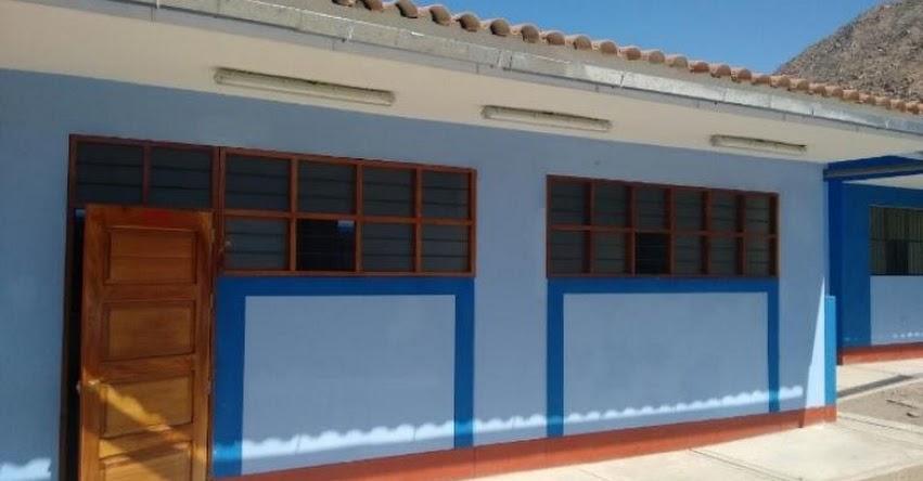 PRONIED: Mejoran servicios educativos en I.E. N° 86597 de Huaquish, en Áncash - www.pronied.gob.pe
