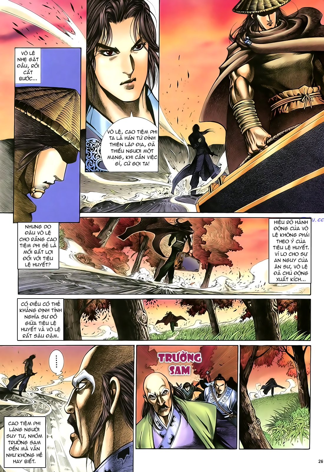 Anh hùng vô lệ Chap 21 trang 27