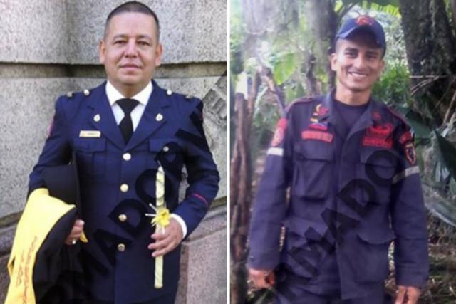 Estos son los dos bomberos detenidos por el régimen por comparar a Maduro con un Burro