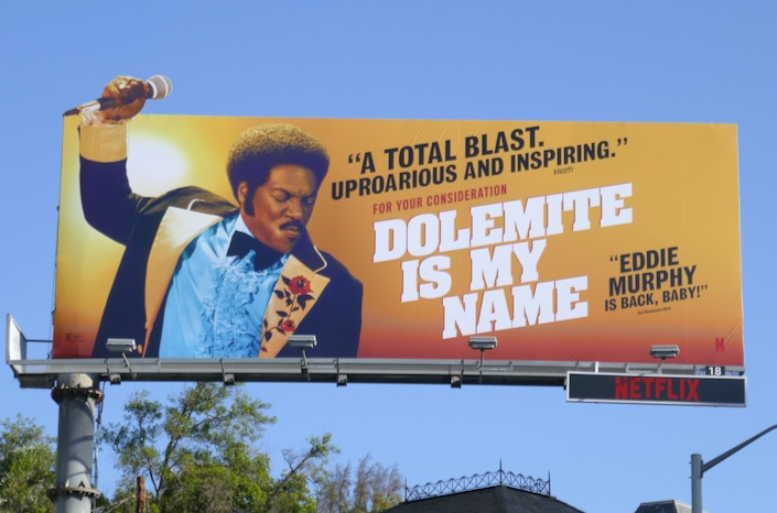 Dolemite Is My Name consideration billboard