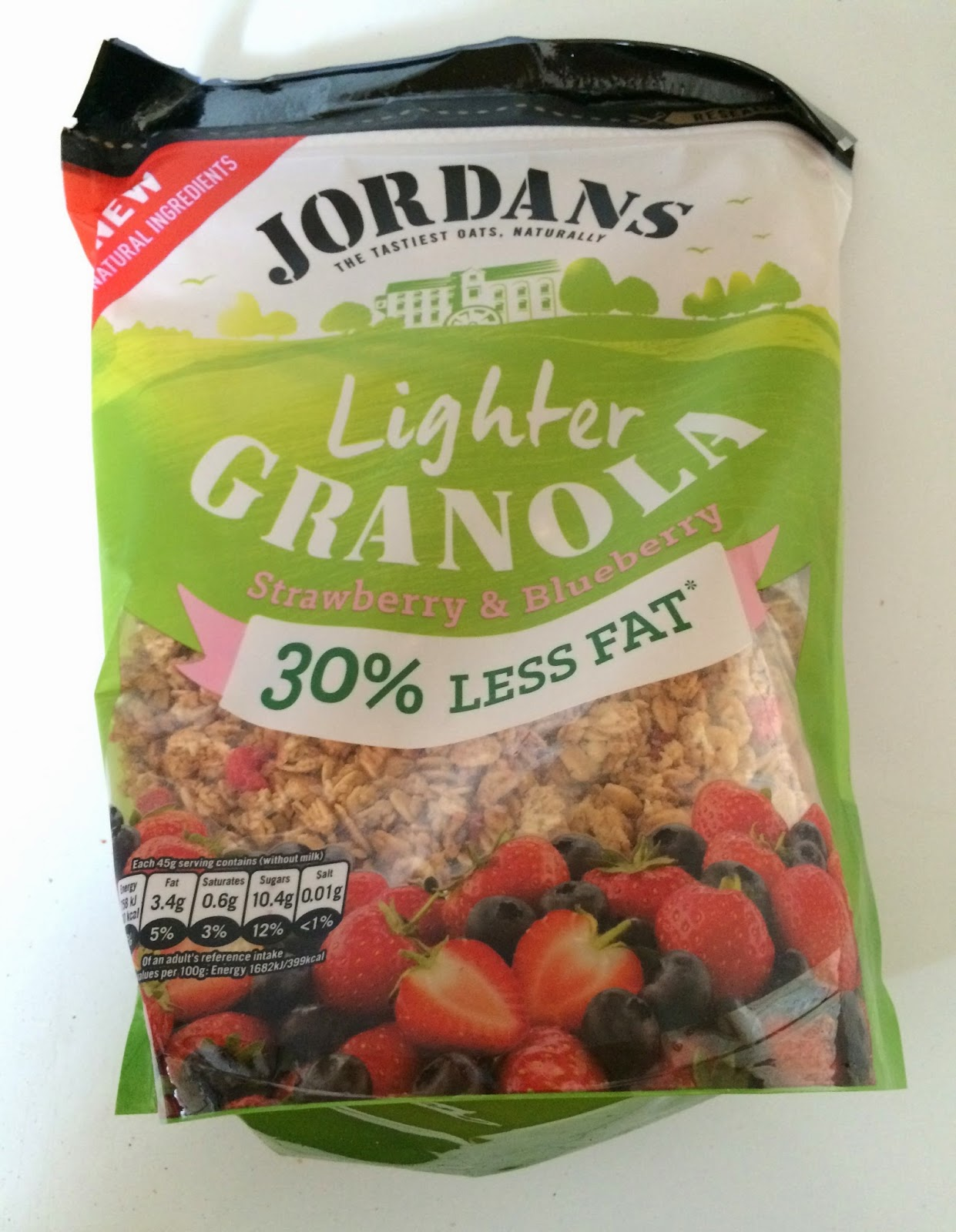 bag of Jordans light granola