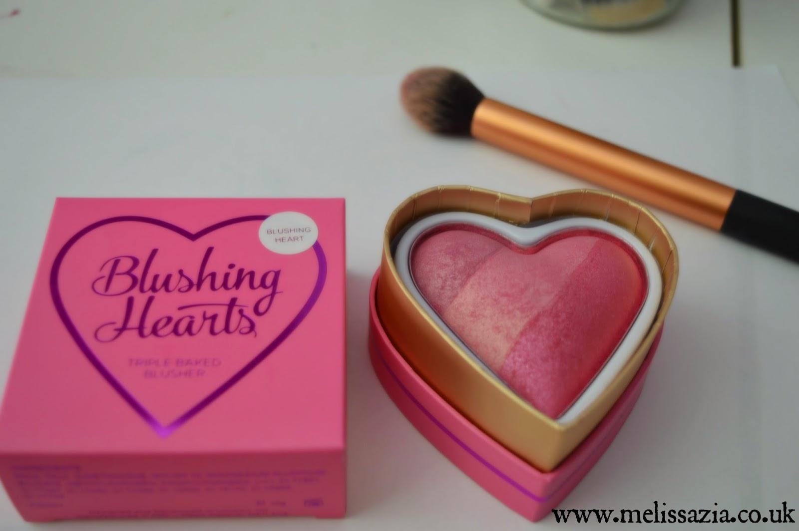 makeup revolution blusher