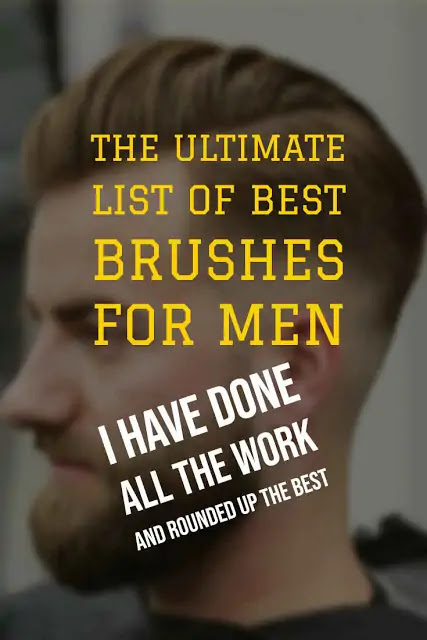 Best Men's Bristle Hair Brushes
