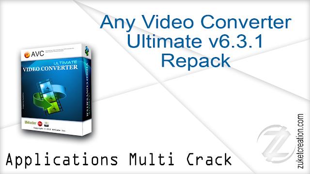 Any Video Converter Ultimate v6.3.1 Repack