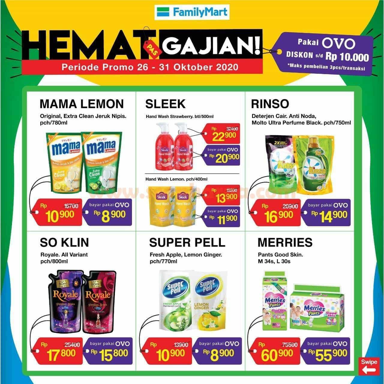 Katalog Promo Family Mart Hemat Pas Gajian 26 31 Oktober 2020 Scanharga
