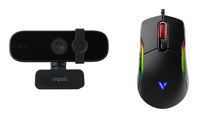 Rapoo C280 Quality Camera, VT200S Gaming mouse now available in PC Express